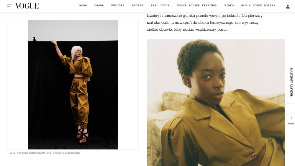 Vogue Kata Haratym brand 4